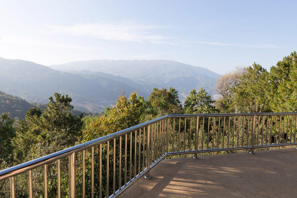 Großflächen-Balkon